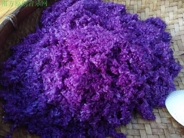 紫红糯米的吃法(做法)大全