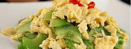 苦瓜炒鸡蛋的营养价值