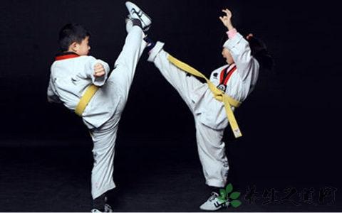 小孩学习跆拳道怎么样