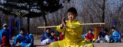 小孩子学武术怎么样