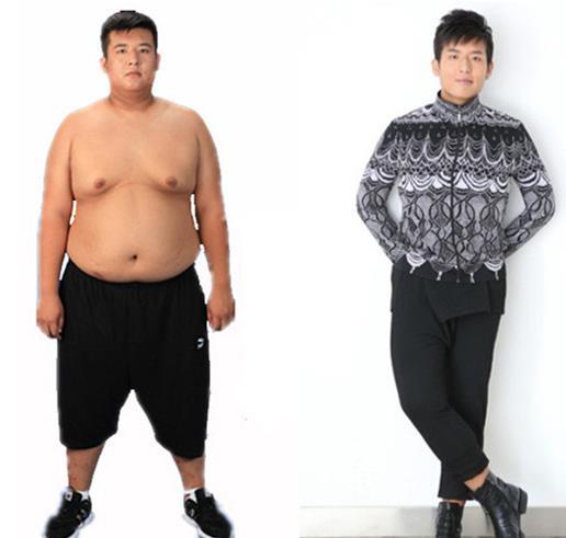 明星成功减肥案例:从270斤肥宅到非诚勿扰男神