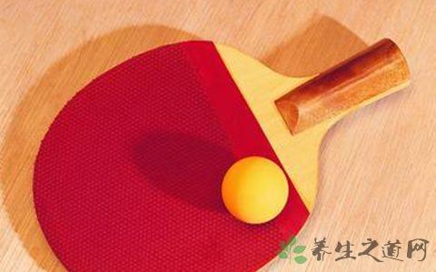 新手打乒乓球用什么球拍