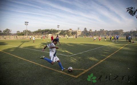 足球正脚背射门教学