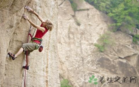攀岩的技巧和装备