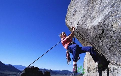 女生学习攀岩有多难