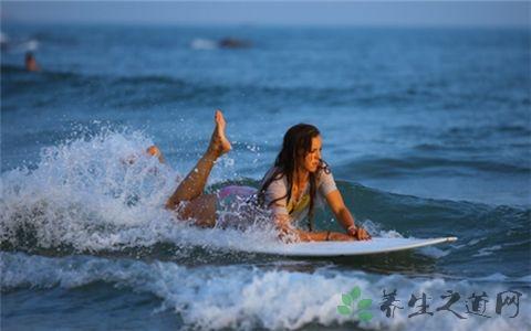冲浪运动技巧