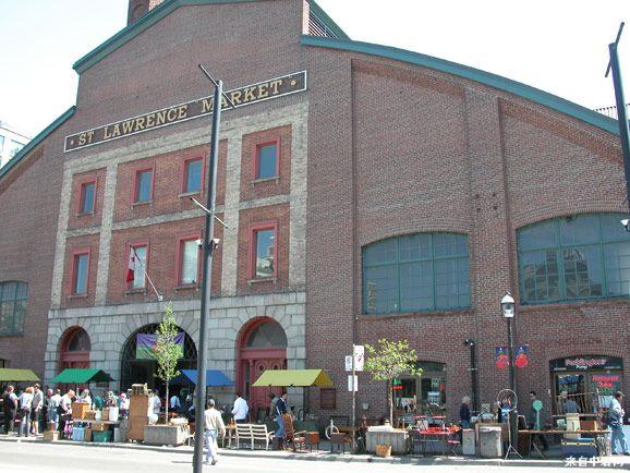 加拿大多伦多市区的圣劳伦斯市场 全球十大最佳食品市场的第一名