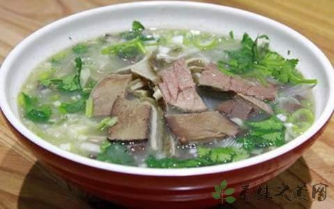牛肉汤的营养价值 有安胎补神作用