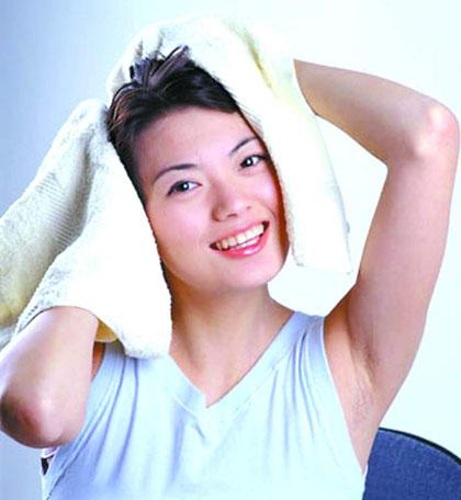 洗头的最佳时间段 早上洗头不可取