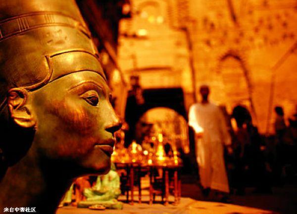 埃及哈利利集市 古老遗迹的烙印