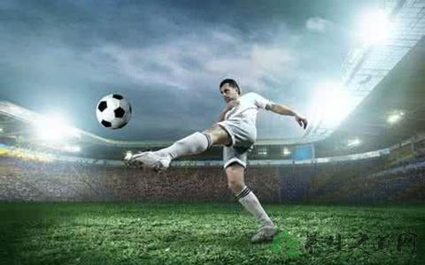 踢足球射门用那个地方踢