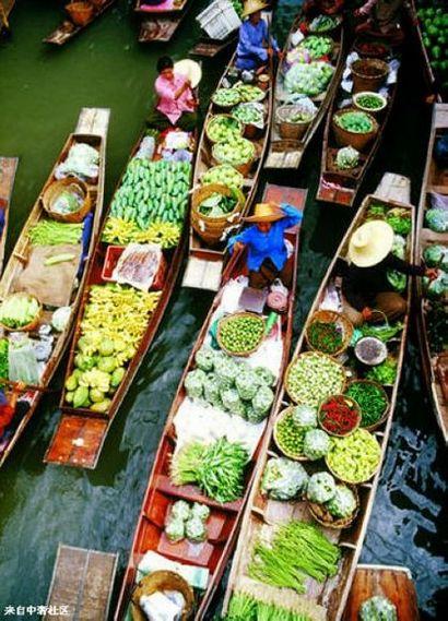 泰国特色游 体验一把水上生活