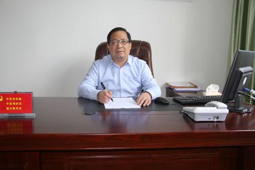 访安徽电气工程学校校长刘传厚