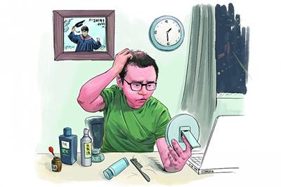 种植的头发能维持多久
