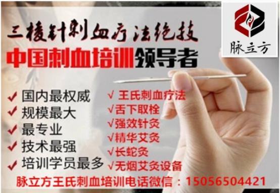 脉立方王氏刺血疗法培训--中国领先培训机构