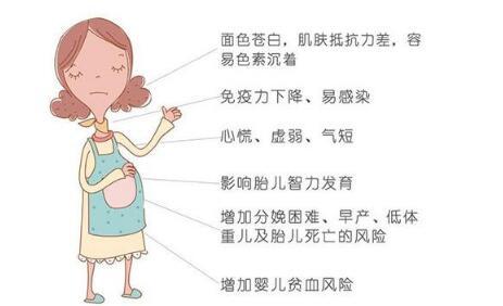 孕妈未补铁致宝宝患先天贫血!孕妇补铁吃什么?