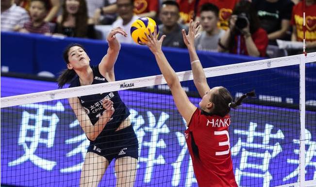 中国女排3-1德国取得两连胜