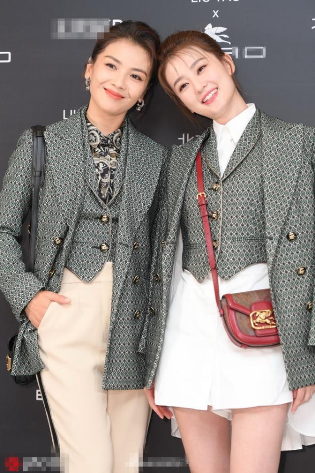 """""""安迪关关""""合体!刘涛乔欣穿姐妹装风格各异都超美"""