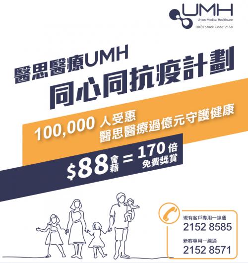 香港安苗HKPV惠享健康:仅需88港元,即可尊享超值项目1折购!